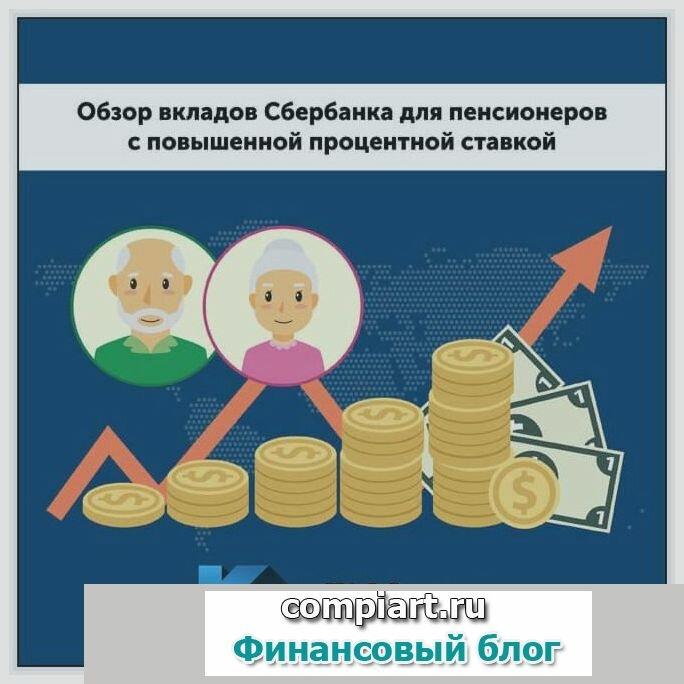 Обзор вкладов для пенсионеров с максимальными процентами в сбербанке
